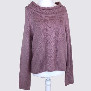 Sweaters - Pink Chunky Sweater SM
